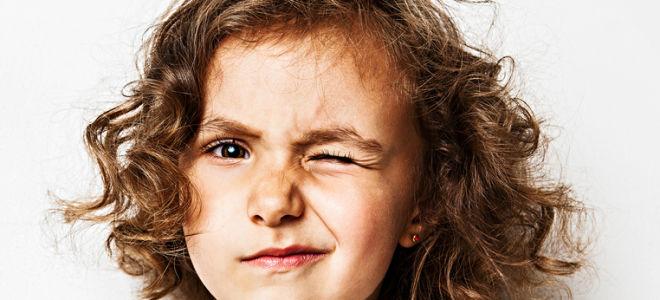 Нервные тики как проявления гиперкинезов у вашего ребенка