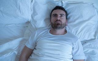 Бессонница после алкоголя: быстрые способы уснуть