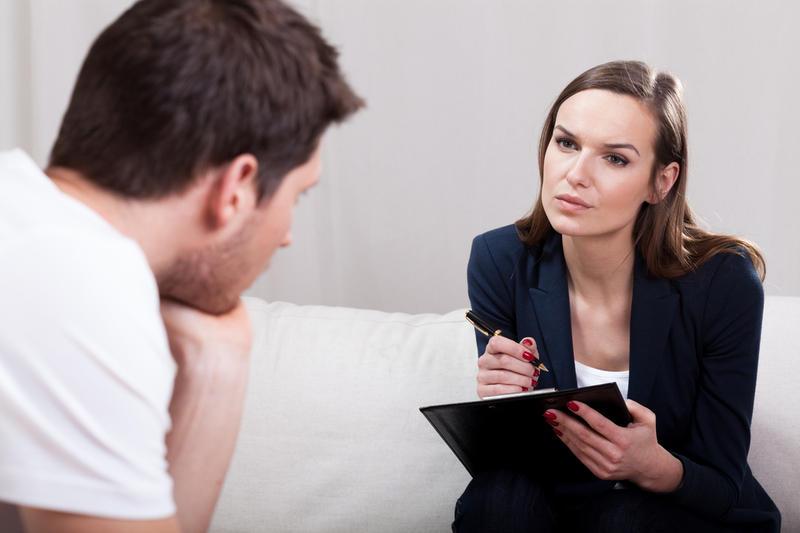 Парень у психолога
