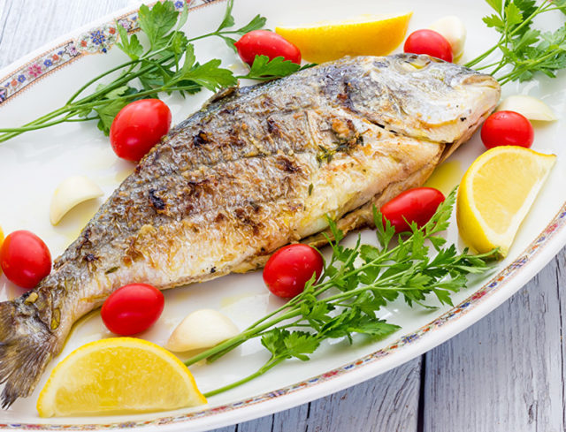 Морская рыба